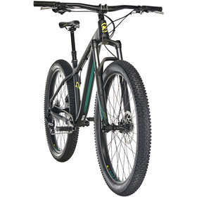 Kona Big Honzo matt black/emerald green/yellow